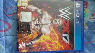 Vendo WWE-2K17 PS4