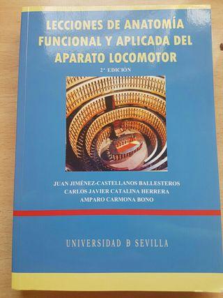 Libro lecciones de anatomía funcional y aplicada