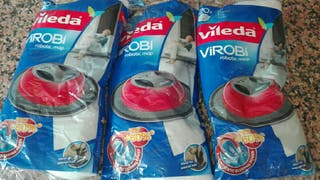 Lote 3 recambios Vileda Virobi