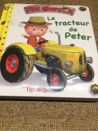 libro niño en frances