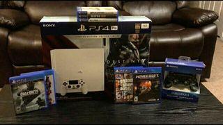 Playstation 4 Pro 1 terra avec 14 jeux + access