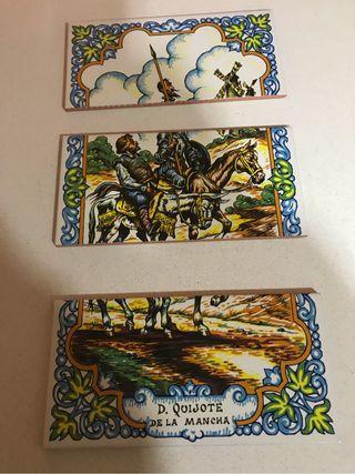 Azulejos pintados (artesanos SEVILLA)