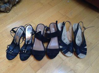Zapatos mujer varios