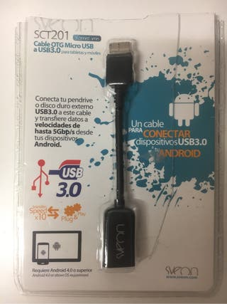 Cable usb otg android para tablets y Mvls