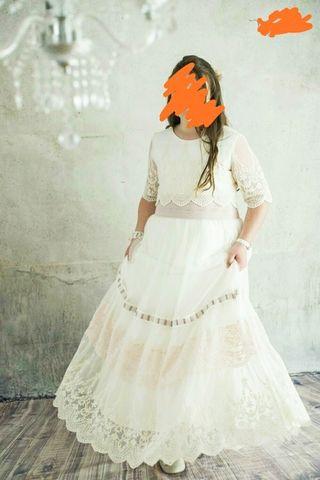 vestido de comunión niña