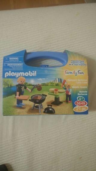 playmobil barbacoa
