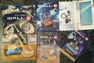 LOTE DVD WALL-E + CARTAS + SOBRE SORPRESa