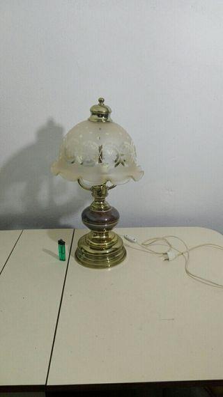 antigua lámpara de sobremesa retro vintage