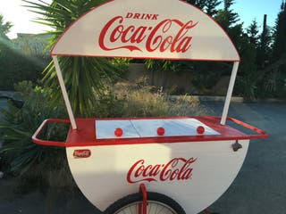 Carro coca cola