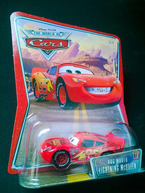 Coche Bug Mouth McQueen de Cars Disney Pixar
