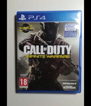 """Call of duty infinite warfare ps4 """"nuevo"""""""