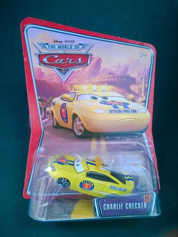 Coche Charlie Checker de Cars Disney Pixar