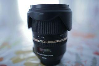 Óptica Tamron 24-70 f 2.8 VC Di USD(montura canon)