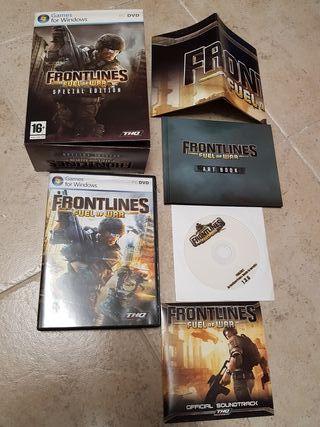 Frontlines Fuel of War. Edicion especial PC