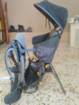mochila montaña bebé