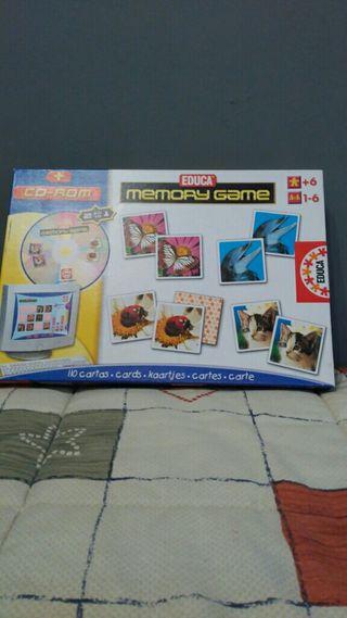 Memory Game Natura