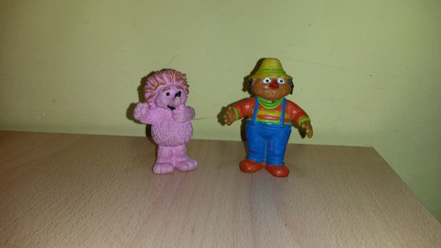 Figuras Barrio sesamo muppets PVC comics spain