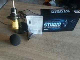 micrófono de estudio pc