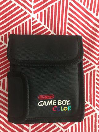 Estuche oficial GameBoy Color