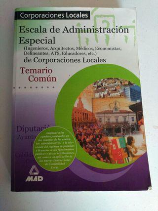 Libro Temario Común Oposiciones