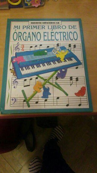 Libro infantil de órgano eléctrico