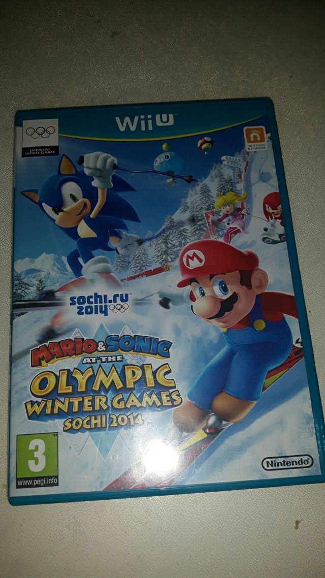 Juegos de Sonic y Mario para Wii u