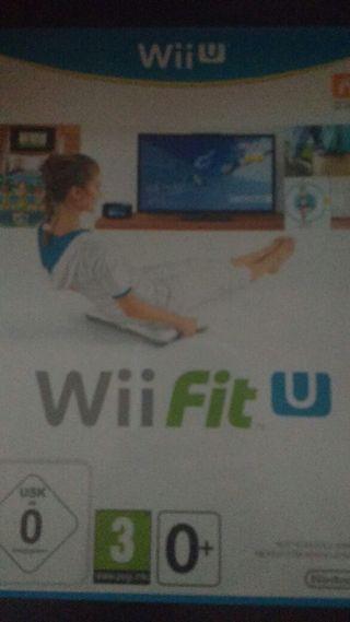 Wii fit U + podometro