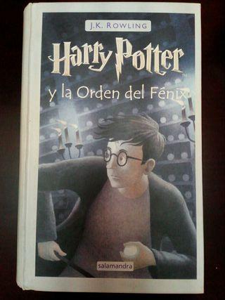 Libro Harry Potter y la Orden del Fenix