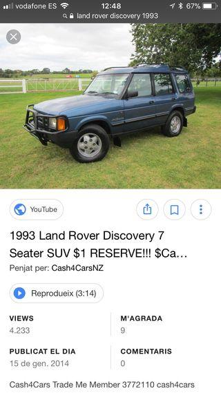 Despiece Land Rover Discovery 1993