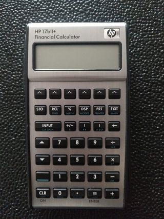 Calculadora financiera HP