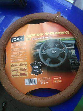 funda de cuero volante Mercedes