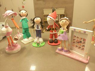 muñecos goma eva