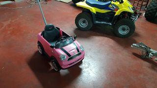 coche niña mini