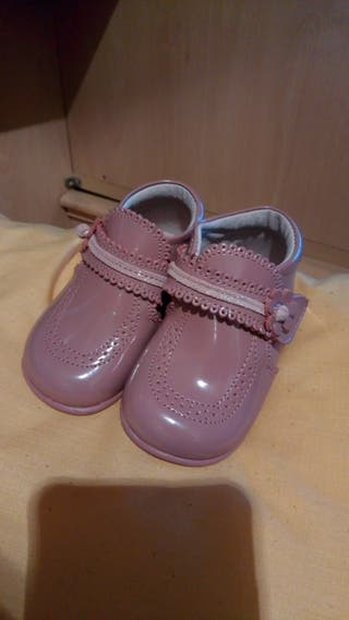zapatos bebe niña