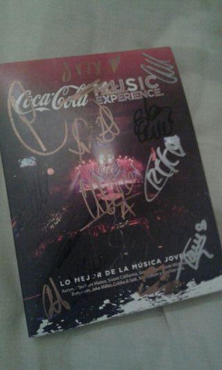 vendo disco de CocaColaMusicExperience