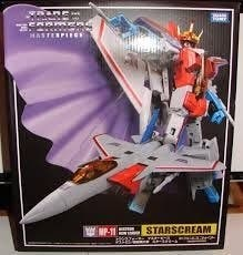transformers masterpiece mp-11 Starscream oficial.