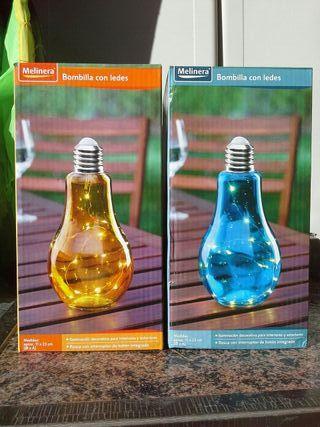 Bombilla decorativa led, varios colores
