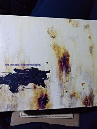 cd Nine Inch Nails NIN - the downward spiral