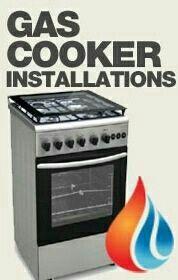 gas cooker / hob