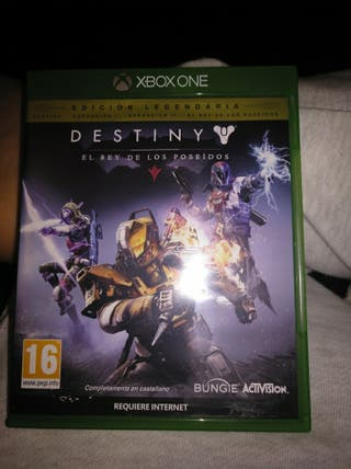 juego destiny xbox one