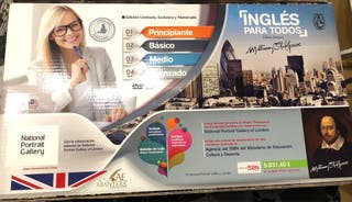 CURSO INGLES PARA TODOS 16 VOLUMENES + 16CD + 16DVD