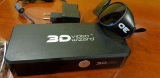 sistema 3D con gafas