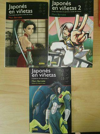 Japones en viñetas 1 y 2