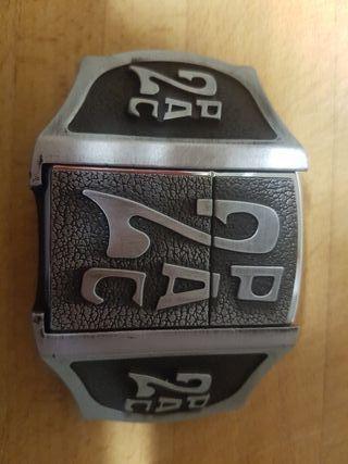 Hebilla cinturon con mechero (tipo zipo)