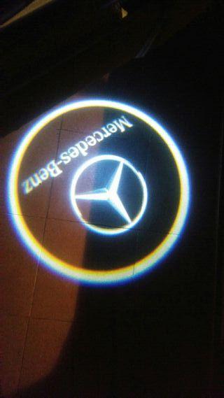 logo para puertas del Mercedes