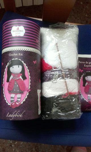gorjuss muñeca crochet