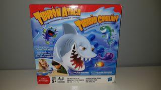 tiburon ataca