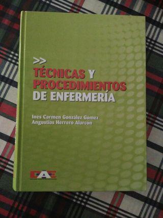Libro técnicas y procedimientos de enfermería