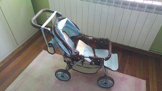 carrito doble bebe