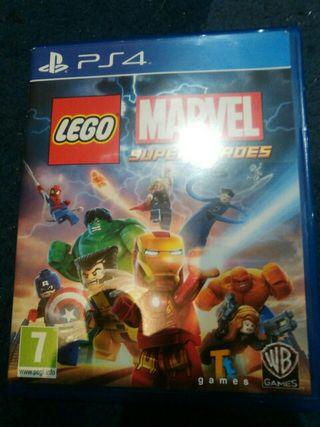 Juego Lego Marvel Superheroes ps4
